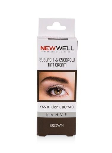 New Well New Well Kahve Kaş Kalıcı Kirpik Boyası Renksiz